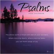 TF Publishing 2020 Psalms Wall Calendar