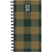 TF Publishing 2020 Plaid Small Weekly Monthly Planner
