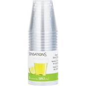 Sensations Clear Shot Glasses, 20 ct. / 2 oz.