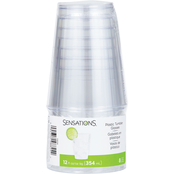Sensations Clear Tumbler, 8 ct. / 12 oz.