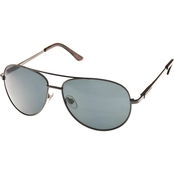Dockers Gunmetal Aviator Sunglasses 19522LDM030