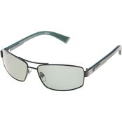 Dockers Polarized Black Navigator Sunglasses 40811LDP009