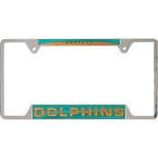 WinCraft NFL Inlaid License Plate Frame