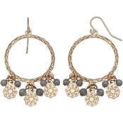 Milli by Jules b Ring Drop Shaky Beads Earrings