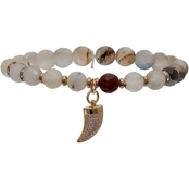 Jules B Stretchy Single Row Bracelet