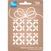 American Express Soft Metals Bronze Gift Card