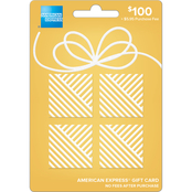 American Express Soft Metals Gold Gift Card