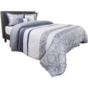 Lavish Home Elegant Paisley 5 Pc. Comforter Set
