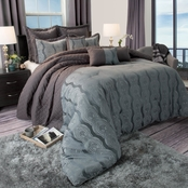 Lavish Home Jolene 8 Pc. Comforter Set