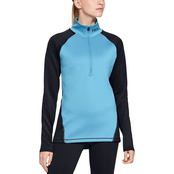 Women's ColdGear® Armour ½ Zip Color Block