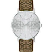 COACH Women's Perry Stainless Steel Watch with Etched Signature C Dial 14503388