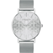 COACH Women's Perry Stainless Steel Watch with Etched Signature C Dial 14503384
