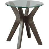 Signature Design by Ashley Zannory Round End Table