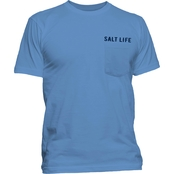 Salt Life Lighthouse Island Pocket Tee