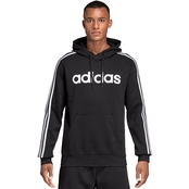 Essential 3 Stripes Pull Over Hoodie