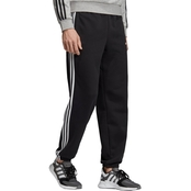 adidas Essential 3 Stripe Fleece Pants