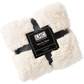 Faux Rabbit Fur Throw Blanket-60