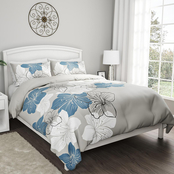 Lavish Home Enchanted Hypoallergenic Comforter and Sham 3 pc. Set