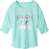 Pony Tails Girls Criss Cross Front Tee
