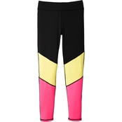 Pony Tails Girls Fuchsia Purple Combo Active Leggings