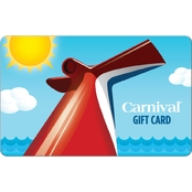 Carnival Cruises Gift Card