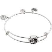 Alex and Ani Path of Life Symbol Bead Expandable Wire Bangle