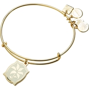 Alex and Ani Charity By Design Lily Expandable Wire Bangle