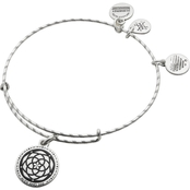 Alex and Ani New Beginnings Charm Expandable Wire Bangle Bracelet