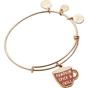 Alex and Ani Color Infusion Pumpkin Spice and Chill Expandable Wire Bangle