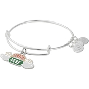 Alex and Ani Silvertone Friends Central Perk Bangle Bracelet
