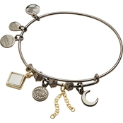 Alex and Ani Evil Eye Cluster Expandable Wire Bangle