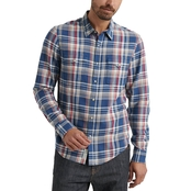 Lucky Brand Alameda Western Woven Button Down