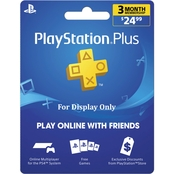 Sony PlayStation Plus 3 month 24.99