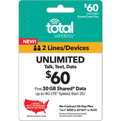 Total Wireless Unlimited Card