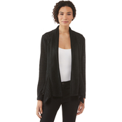 Passports Draped Open Cardigan