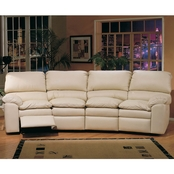 Catera Leather conversation Sectional