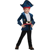 Disguise Ltd. Little Boys Captain Jake Classic Costume, (4-6)