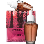 Bath & Body Works Cranberry Wood Wallflowers Refill 2 pk.
