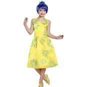 Disguise Ltd. Girls Inside Out Joy Deluxe Costume
