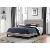 Hillsdale Delaney Bed in One Stone Fabric