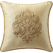 Marquis by Waterford Russell Square 18 x 18 in. Decorative Pillow