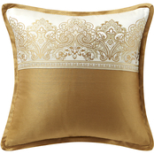 Marquis by Waterford Russell Square 16 x 16 in. Decorative Pillow