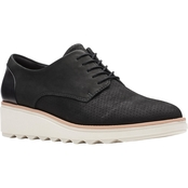 Clarks Women's Sharon Crystal Lace Up Shoe