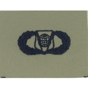 Air Force Badge Basic Command and Control, Subdued Sew-On (ABU)