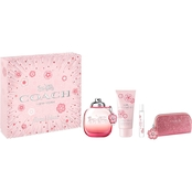 Coach Floral Blush 4-PC Holiday Set