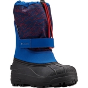 Columbia Grade School Boys Powderbug Plus II Print 001 Boots