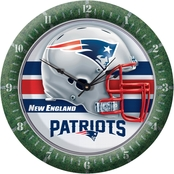 WinCraft NFL Team Round Wall Clock