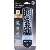 GE 8-Device Backlit Universal Remote Control