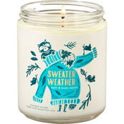 Bath & Body Works Fall Traditions: Sweater Weather Single Wick Candle