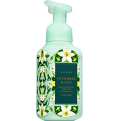 Bath & Body Works Fall Greens & Blooms: Foaming Soap Cucumber Lily
